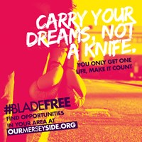 preview image for 'Carry your dreams, not a knife' digital image